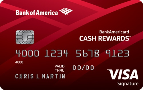 Learn more for BankAmericard Cash Rewards™ Credit Card