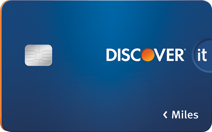 Discover it® Miles - Unlimited 1.5x Rewards Card