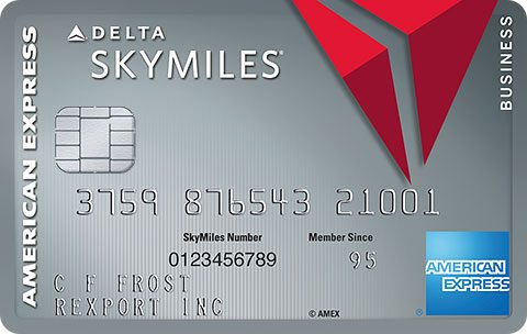 Platinum Delta SkyMiles® Business Credit Card from American Express
