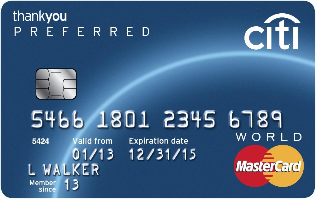 Citi ThankYou® Preferred Card - Earn 20,000 Bonus Points