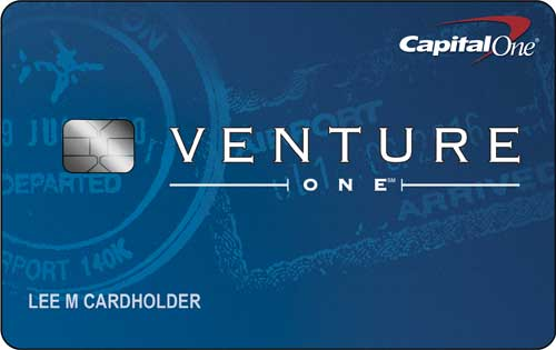 Learn more for Capital One® VentureOne® Rewards Credit Card