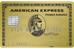 Apply online for Premier Rewards Gold Card from American Express