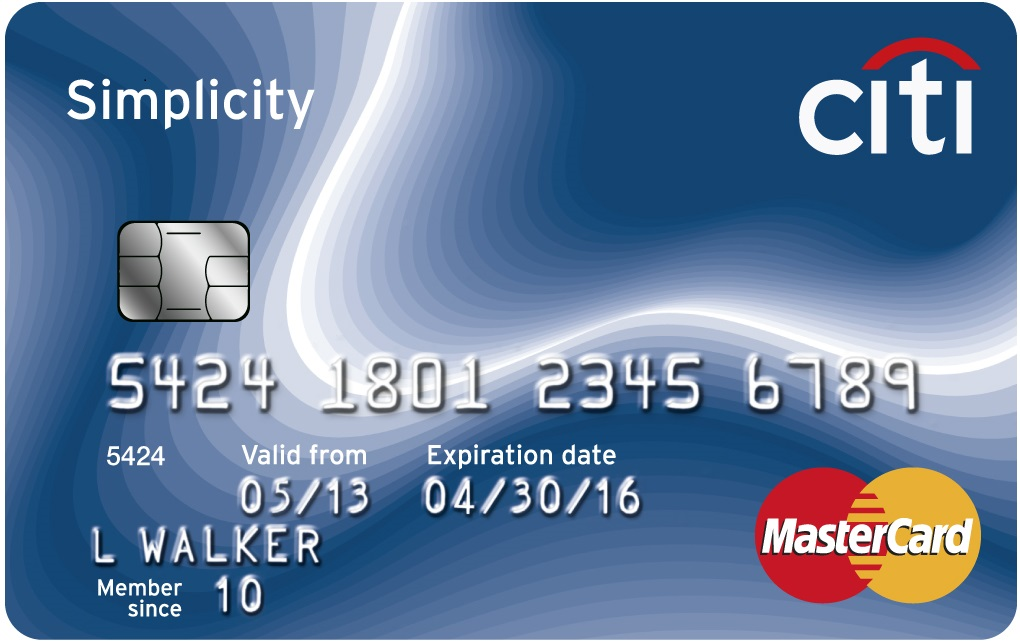 Learn more for Citi Simplicity® Card