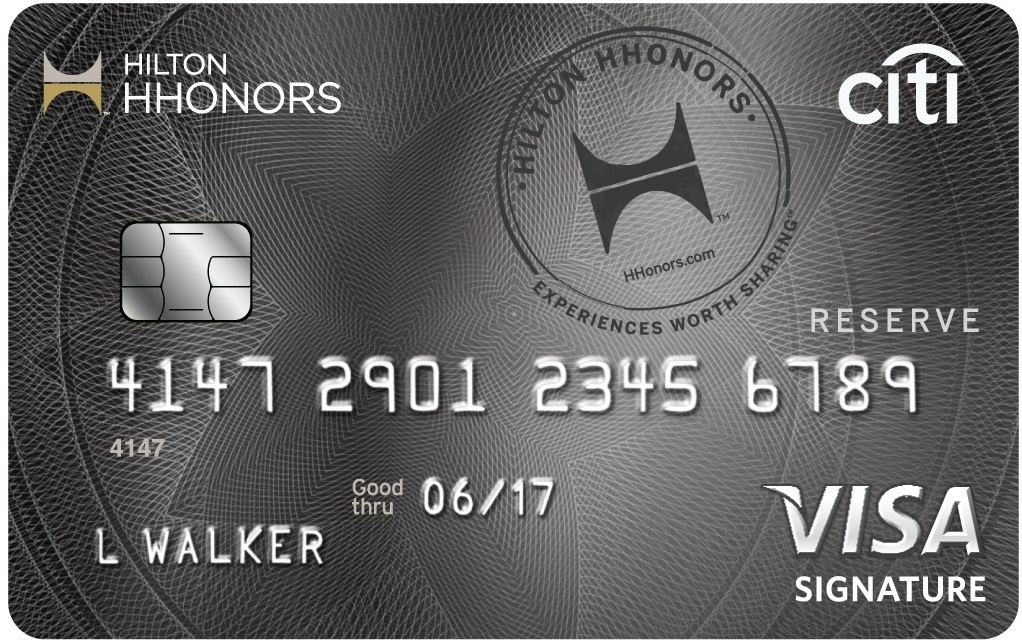 Apply online for Citi® Hilton HHonors™ Reserve Card