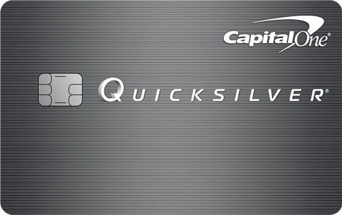 Apply online for Capital One® Quicksilver® Cash Rewards Credit Card