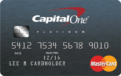 Apply online for Capital One® Platinum Credit Card