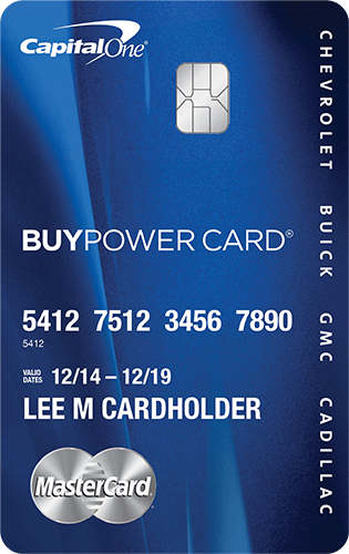 Apply online for BuyPower Card from Capital One®