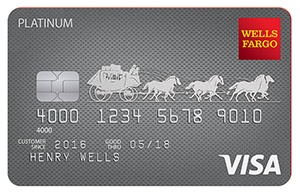 Wells Fargo Platinum Visa® Credit Card