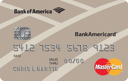 Apply online for BankAmericard® Credit Card