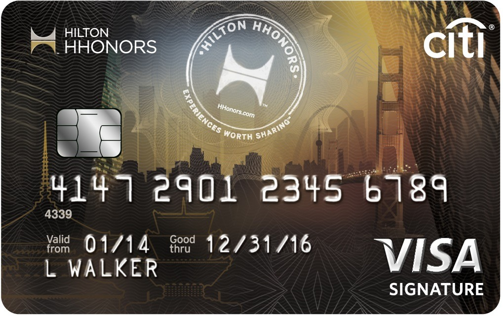 Learn more for Citi® Hilton HHonors™ Visa Signature® Card