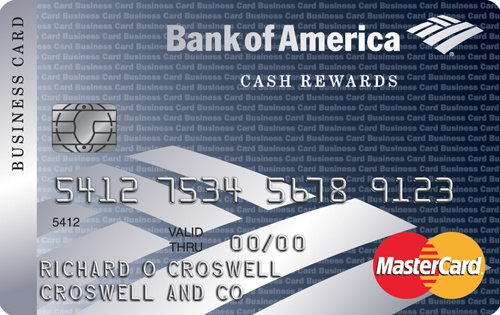 Learn more for Bank of America® Cash Rewards for Business MasterCard® credit card