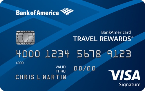 Apply online for BankAmericard Travel Rewards® Credit Card