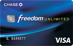 Apply online for Chase Freedom Unlimitedâ""